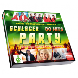 Schlager Party - 80 Hits