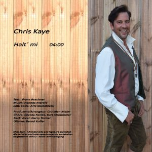 CD Cover Single Halt mi Hinten